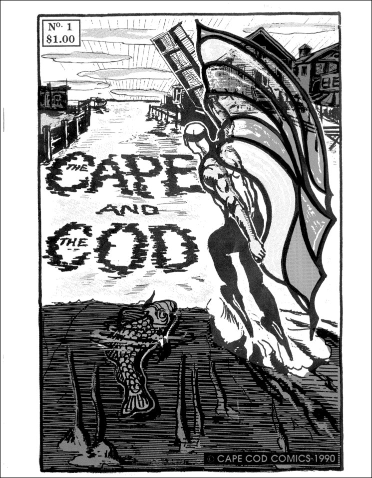"""Merciful Mendel! """"The Cape and the Cod"""" Indie Comic Book ..."""