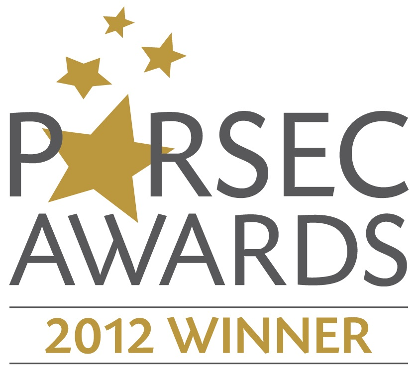 2012 Parsec Award Winner logo