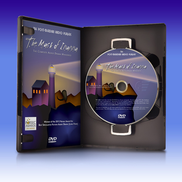 The Lovely Pearl of a DVD Within The Mask of Inanna's DVD Shell